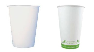 12oz cups - plain or eco