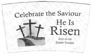 """""""Celebrate the Saviour"""" on White"""