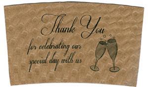 Champagne Thank You / Kraft